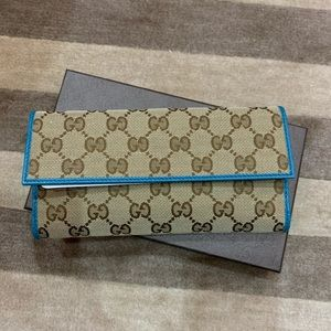 NWT Gucci Wallet - 100% Authentic